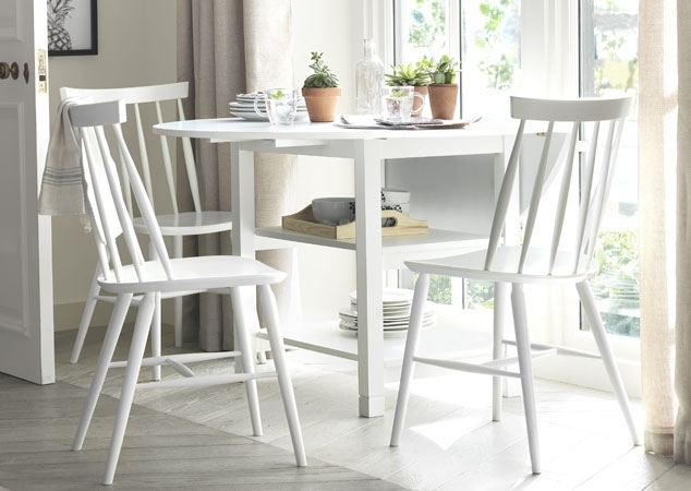 Space Saving Dining Tables | Argos Pertaining To Drop Leaf Extendable Dining Tables (View 9 of 25)