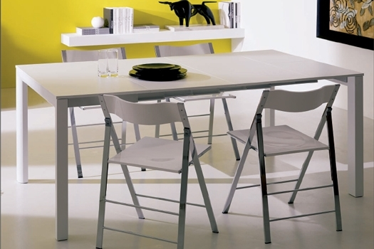 Space Saving Furniture, Tables, Chairs, Sofas And Consoles | Bonbon Intended For Dining Tables With Fold Away Chairs (View 18 of 25)