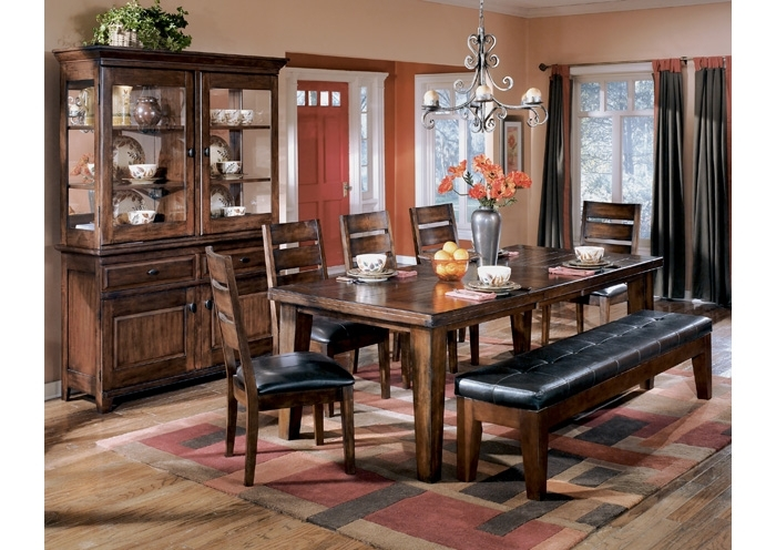 Spiller Furniture & Mattress Larchmont Rectangular Extension Table W Intended For Craftsman 9 Piece Extension Dining Sets With Uph Side Chairs (Image 21 of 25)