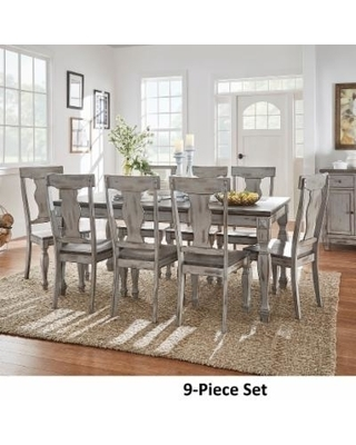 Splendid Design Ideas Grey Wood Dining Set Jaxon 6 Piece Rectangle With Regard To Jaxon Grey 6 Piece Rectangle Extension Dining Sets With Bench & Wood Chairs (Image 23 of 25)