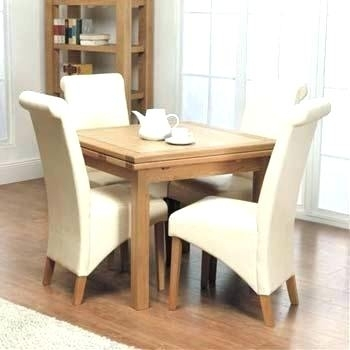 Square Dining Table For 4 Square Dining Table For 4 Dining Room With Regard To 4 Seater Extendable Dining Tables (Image 24 of 25)