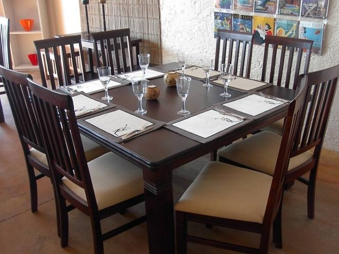 Square Dining Table For 8 Within Square Dining Tables (Image 15 of 25)