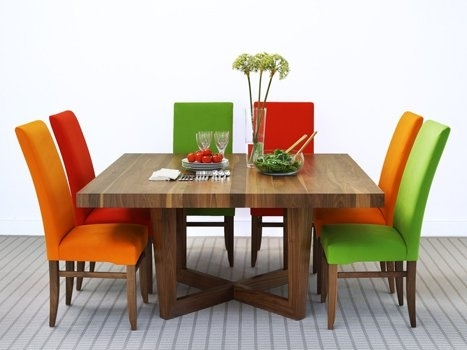 Square Dining Tables In Solid Oak & Walnut, Extending Square Tables For Square Dining Tables (Image 16 of 25)