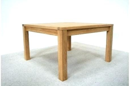 Square Oak Dining Table 8 Seater For Room Tables Large X Design To With Square Oak Dining Tables (Image 21 of 25)