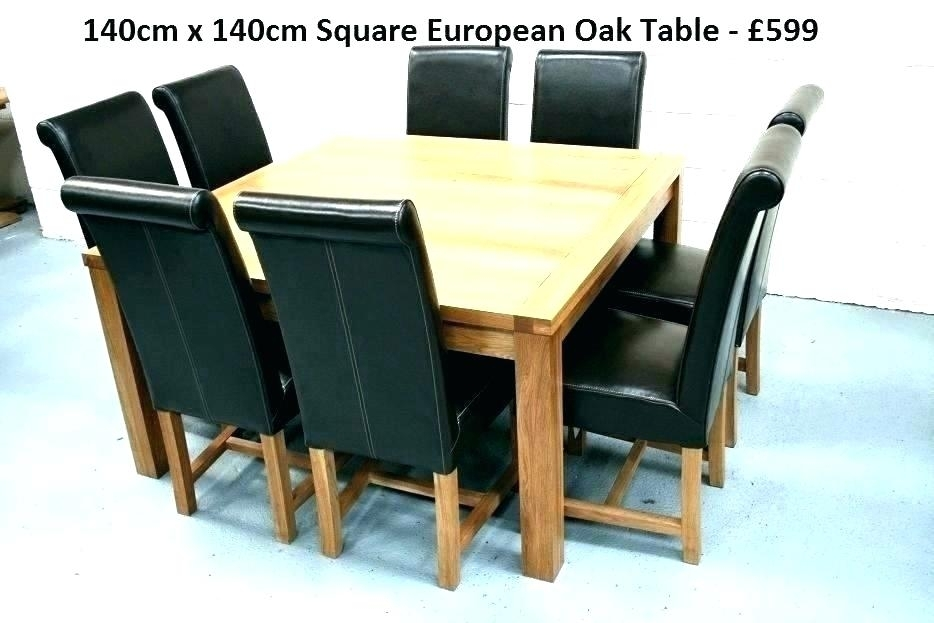 Square Oak Dining Table For 8 Related Post Square Oak Dining Table 8 Within 8 Seater Oak Dining Tables (View 13 of 25)