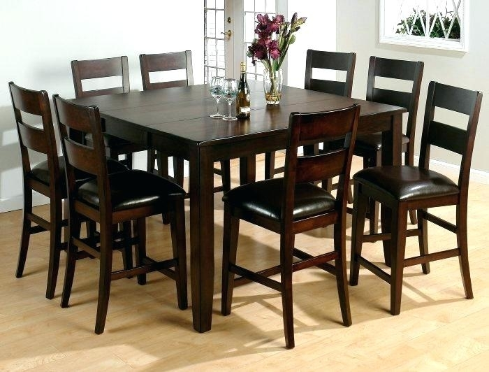 Square Table With 8 Chairs Best Dining Tables Ideas On Seat Room For In 8 Chairs Dining Sets (Image 23 of 25)