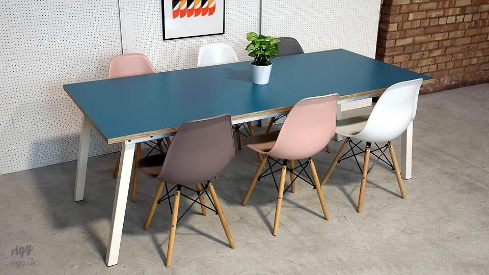 Stance Dining Table Throughout Dining Tables With White Legs (Image 19 of 25)
