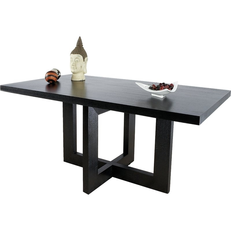 Statementsj Rocco Dining Table | Wayfair In Rocco Extension Dining Tables (View 8 of 25)