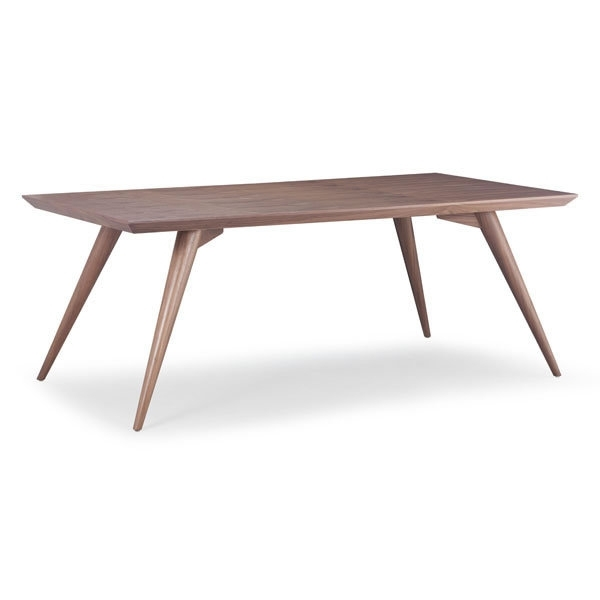 Stockholm Danish Dining Table In Walnut – Simply Austin Furniture In Danish Dining Tables (Image 25 of 25)