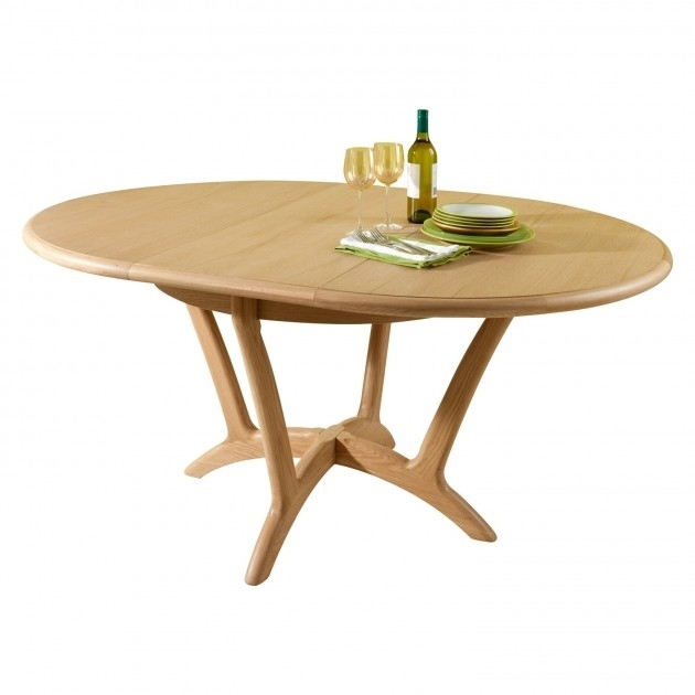 Stockholm Dining Round Extending Dining Table | Lenleys Furniture Kent In Round Extending Dining Tables (Image 23 of 25)