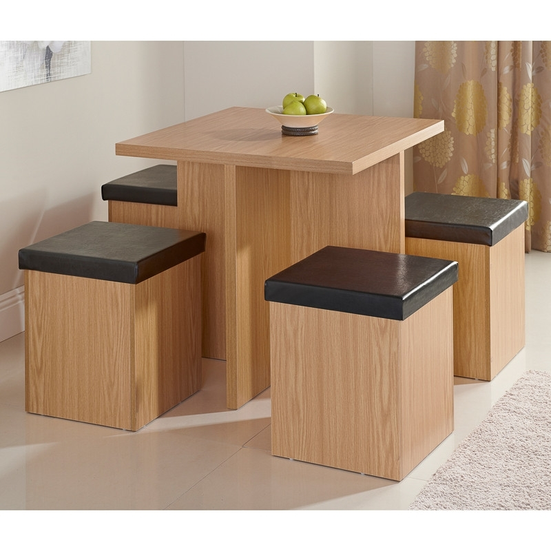Stockholm Stowaway Dining Set 5Pc | Dining Furniture, Dining Table Inside Stowaway Dining Tables And Chairs (View 2 of 25)