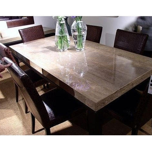 Stone Dining Table At Rs 32000 /set | Dining Table – Star Furniture Pertaining To Stone Dining Tables (View 6 of 25)