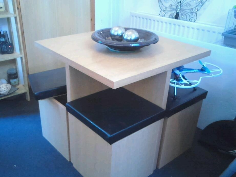 Stowaway Dining Set 5Pc | In South Ayrshire | Gumtree Intended For Stowaway Dining Tables And Chairs (View 22 of 25)