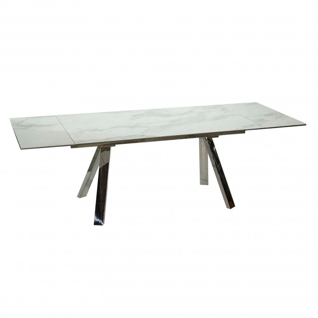 Stromboli Extending Dining Table 160/240 | Lenleys Furniture Kent With Regard To Extending Marble Dining Tables (Image 21 of 25)
