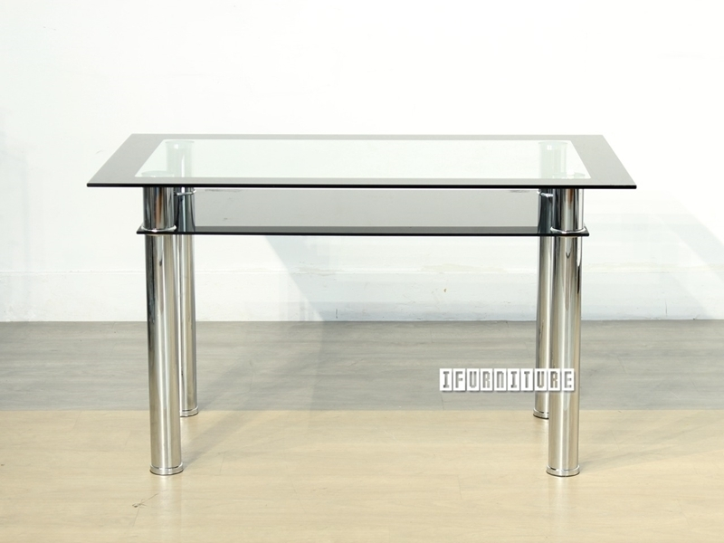 Studio Glass Dining Table-Ifurniture-The Largest Furniture Store In regarding Edmonton Dining Tables