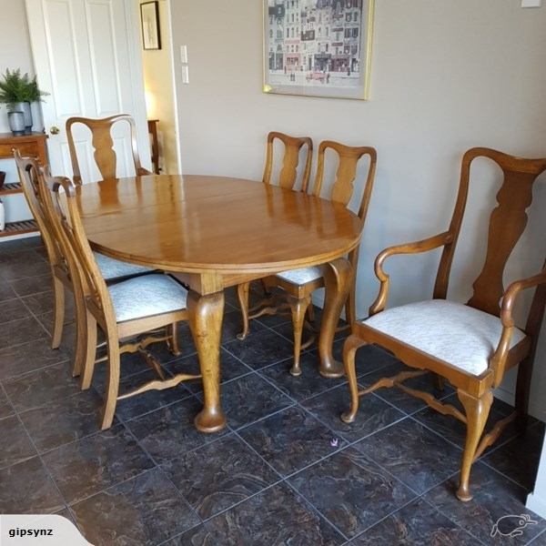 Stunning Antique Oak Dining Suite | Trade Me With Oak Dining Suite (Image 22 of 25)