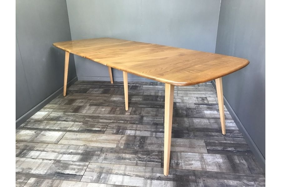 Stunning Ercol Grand Windsor Extending Dining Table Vintage Retro Inside Retro Extending Dining Tables (Image 21 of 25)
