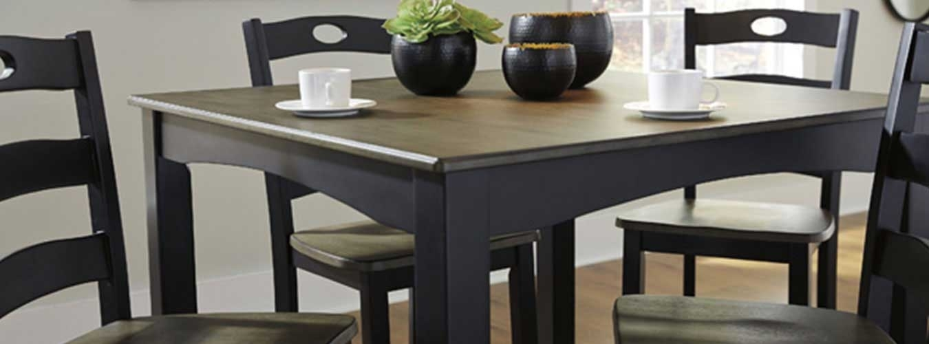 Stylish And Affordable Dining Room Furniture In Philadelphia, Pa Inside Market 5 Piece Counter Sets (Image 25 of 25)