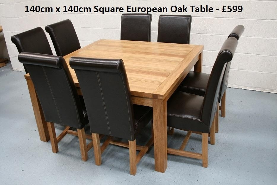 Stylish Square Kitchen Table Seats 8 Marvelous Home Furniture Ideas Regarding Dining Tables Seats (View 23 of 25)