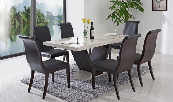 Stylish Yet Functional Italian Dining Tables Within Italian Dining Tables (Image 24 of 25)