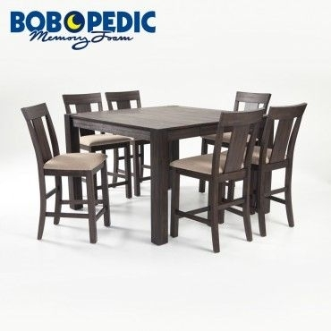 """Summit 54"""" X 54"""" 7 Piece Pub Set 