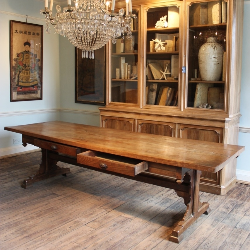 Superb 19Th Century French Farmhouse Dining Table – Furniture Inside French Farmhouse Dining Tables (Image 22 of 25)
