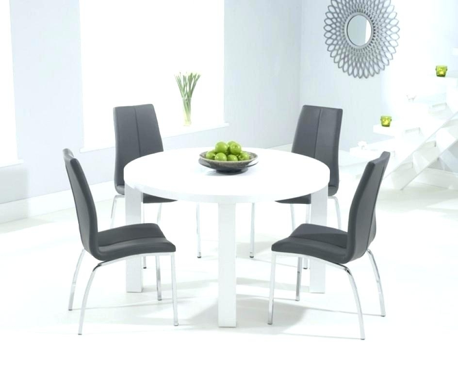 Surprising White Gloss Dining Table The Range Grey Chairs Ikea High With Hi Gloss Dining Tables (View 22 of 25)