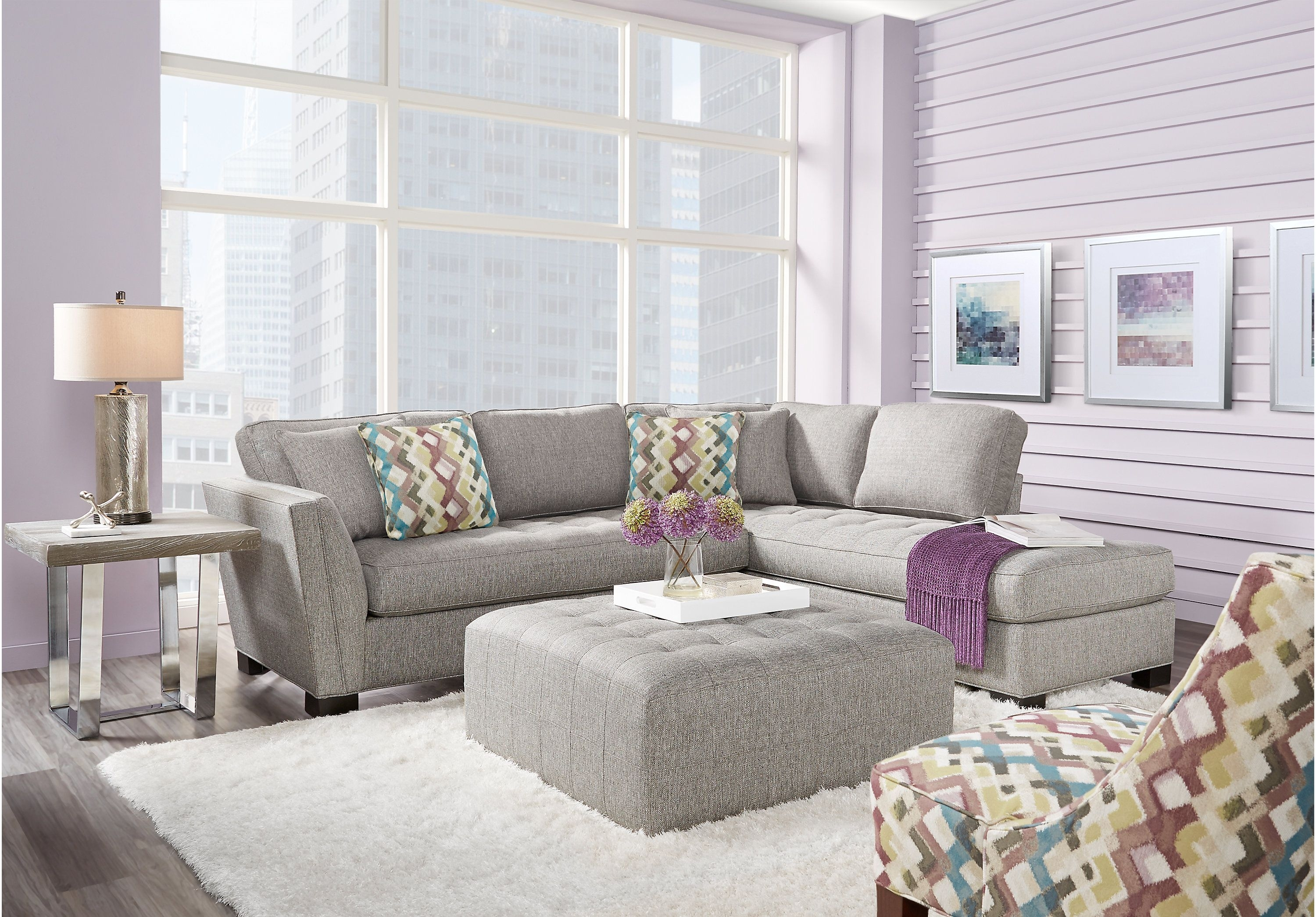 Sydney 2 Piece Sectional For Malbry Point 3 Piece Sectionals With Laf Chaise (View 9 of 25)