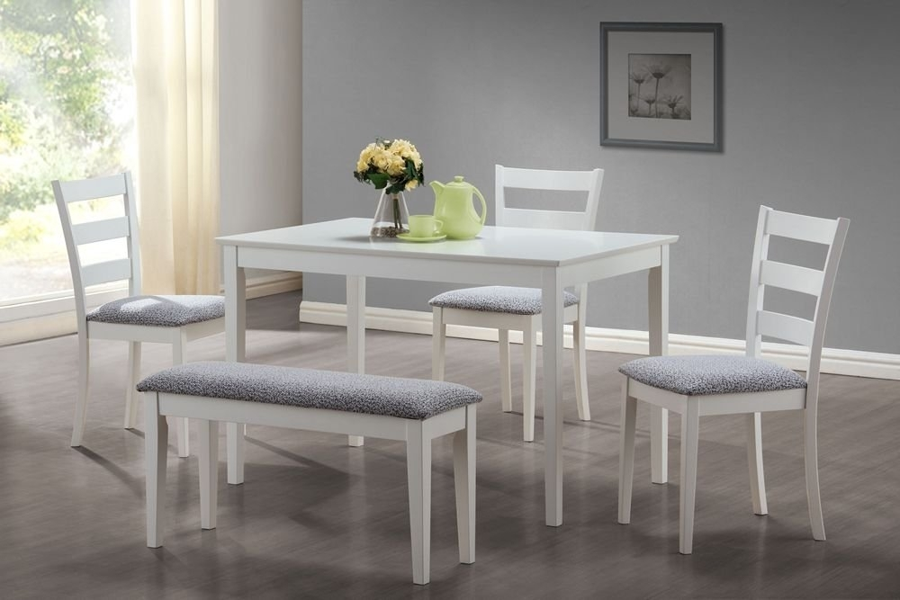 Table And Bench Sets Dining – Castrophotos With Small Dining Tables And Bench Sets (View 14 of 25)