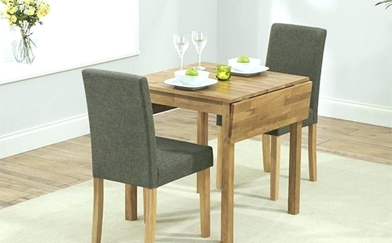 Table And Two Chairs Breakfast Table For Two Breakfast Table 2 In Two Seat Dining Tables (Image 16 of 25)