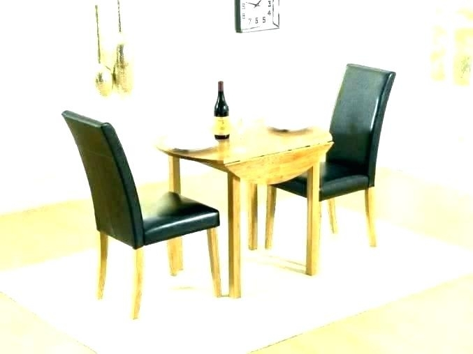 Table For 2 Small Dining Table With 2 Chairs Small Dining Table For Regarding Dining Tables And 2 Chairs (Image 22 of 25)