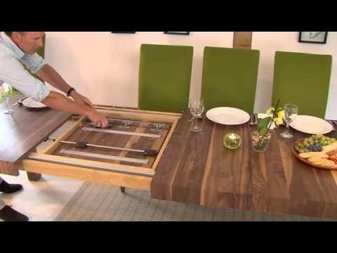 Table Mechanisms Pedestal Rectangular Extending Dining Tables 2 In Extending Rectangular Dining Tables (View 11 of 25)