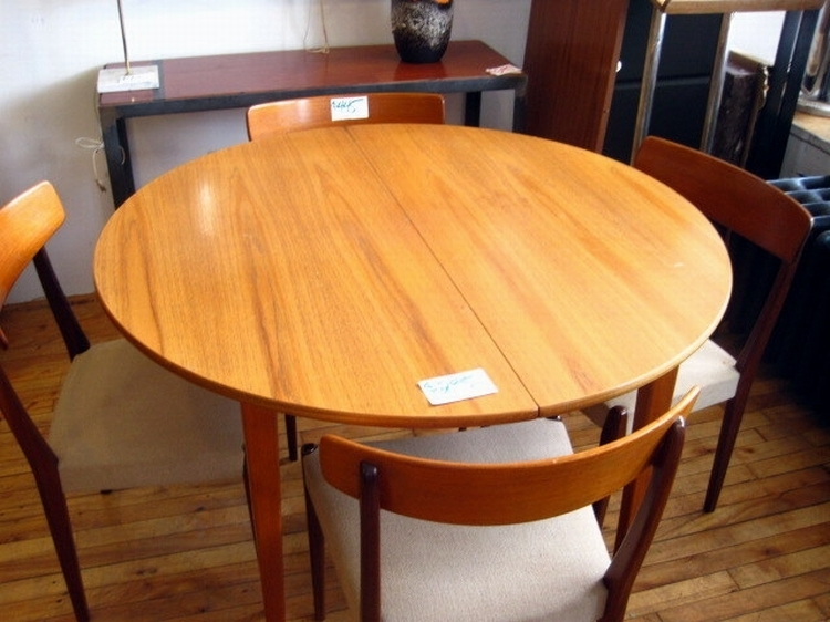 Table Testezmd Round Teak Dining Iron Wood With Regard To For Round Teak Dining Tables (Image 21 of 25)