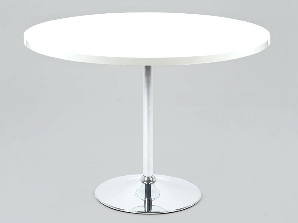 Table White Round White Tables High Gloss White Round Dining Table With White High Gloss Oval Dining Tables (View 25 of 25)