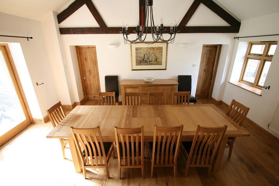 Tallinn Oak Dining Sets | Solid Oak Dining Table Sets Regarding Oak Furniture Dining Sets (View 9 of 25)