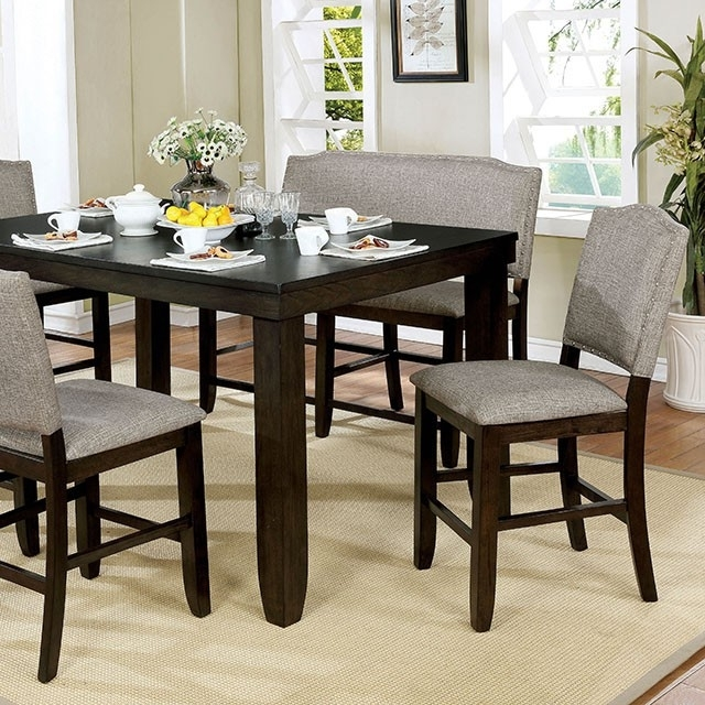 Teagan Counter Height Dining Table Intended For Teagan Extension Dining Tables (Image 24 of 25)