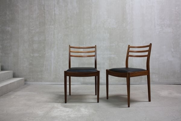Teak Dining Chairsvictor Wilkins For G Plan, 1960S, Set Of 8 For Within Helms 5 Piece Round Dining Sets With Side Chairs (Image 23 of 25)