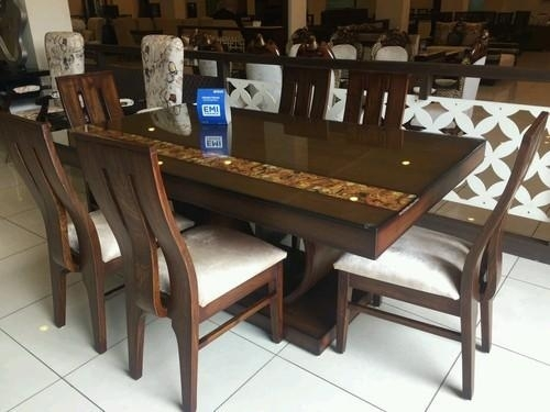 Teak Dining Table ( 6 – Seater ) At Rs 51400 /set | Teak Dining Pertaining To Six Seater Dining Tables (Image 23 of 25)