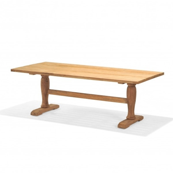 Teak – Emerson Dining Table – Viking Casual Furniture Intended For 87 Inch Dining Tables (Image 24 of 25)