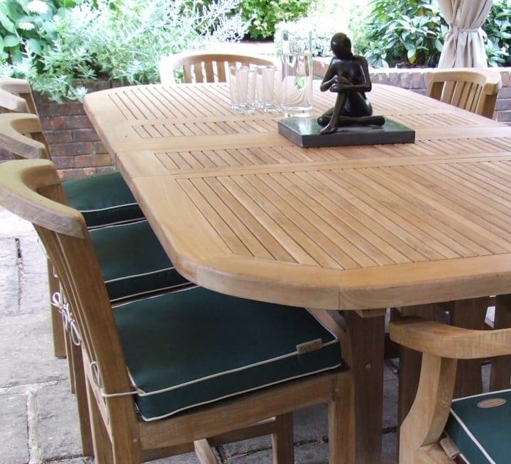 Teak Furniture & Teak Garden Furniture In London & Nationwide Throughout Garden Dining Tables (View 25 of 25)