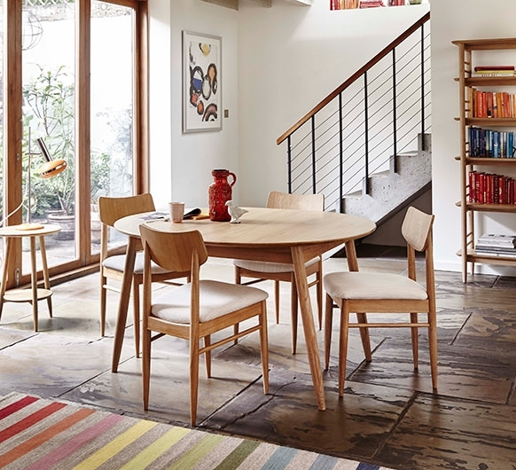 Teramo Dining Small Extending Dining Table – Dining Tables – Ercol Throughout Small Extending Dining Tables (Image 22 of 25)