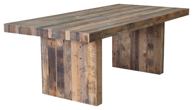 Terra Nova Dining Table Rustic Pine – Rustic – Dining Tables  Cdi Pertaining To Rustic Dining Tables (Image 22 of 25)