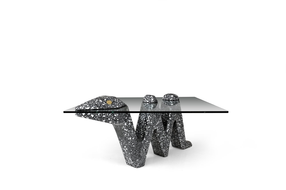 Terrazzo — Carly Jo Morgan With Carly Triangle Tables (Image 20 of 25)