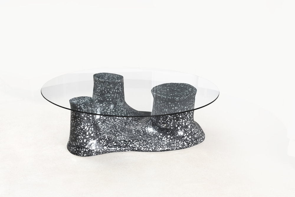 Terrazzo — Carly Jo Morgan With Regard To Carly Triangle Tables (View 9 of 25)