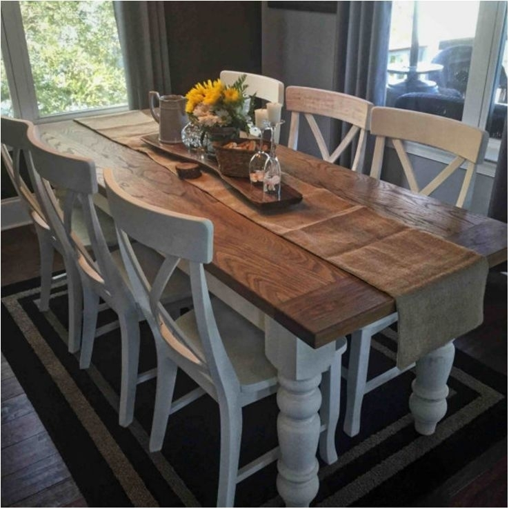 Terrific Farm Table Dining Sets Dining Tables – Farmhouse Dining Within Farm Dining Tables (Image 22 of 25)