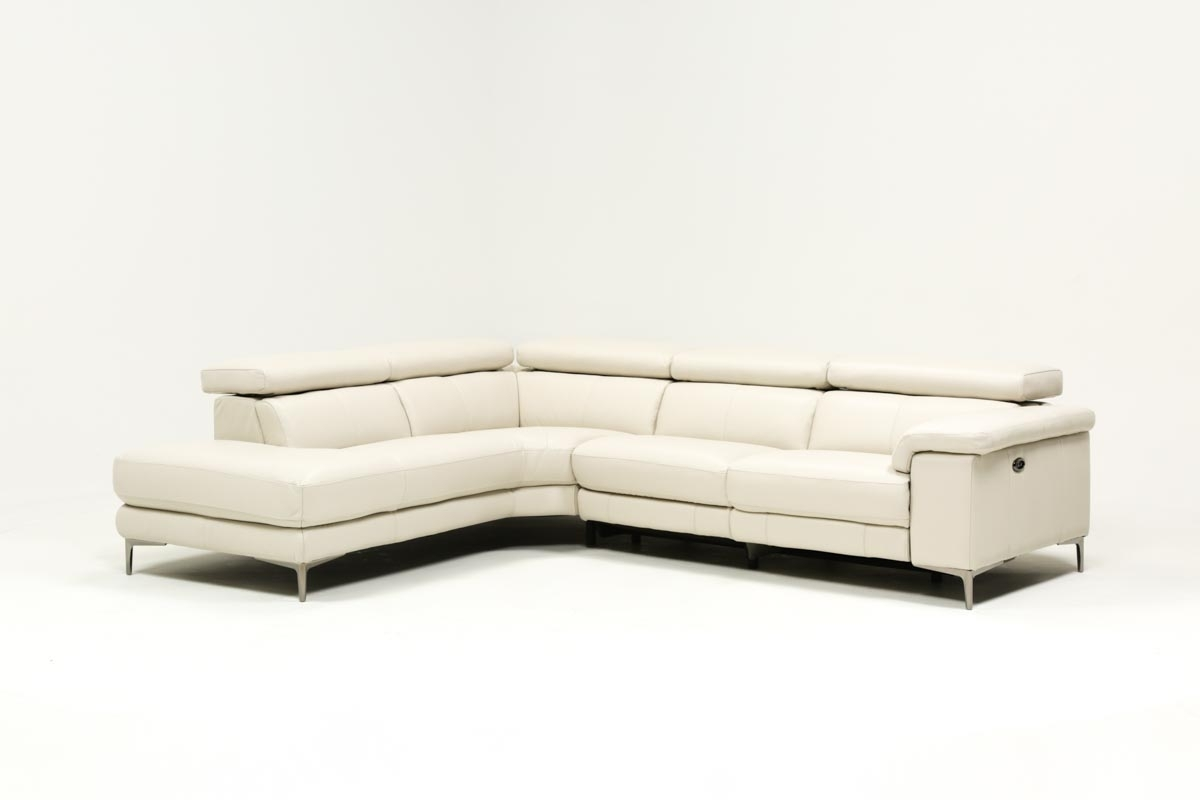 Tess 2 Piece Power Reclining Sectional W/laf Chaise | Living Spaces For Tess 2 Piece Power Reclining Sectionals With Laf Chaise (Image 22 of 25)