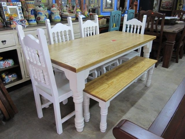 Texas Style Farmhouse Dining Tables | Pinterest | Banquettes, Farm Regarding Farm Dining Tables (Photo 5 of 25)