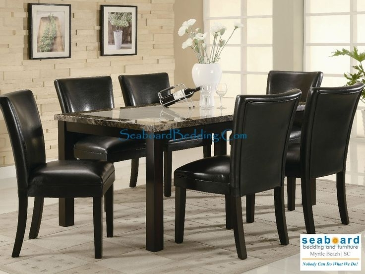 The 12 Best Casual Diningcoaster Images On Pinterest | Table With Regard To Caden 6 Piece Dining Sets With Upholstered Side Chair (View 23 of 25)