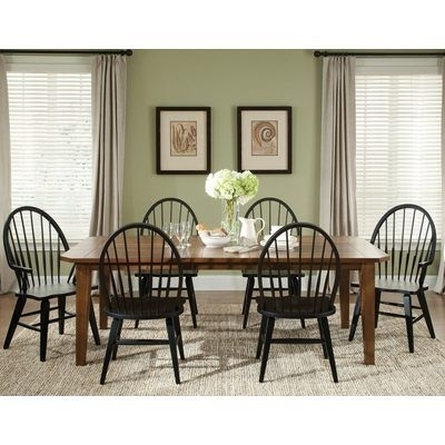 The 35 Best H (Om) E   Dining Images On Pinterest | Dining Rooms In Combs 7 Piece Dining Sets With  Mindy Slipcovered Chairs (Image 23 of 25)