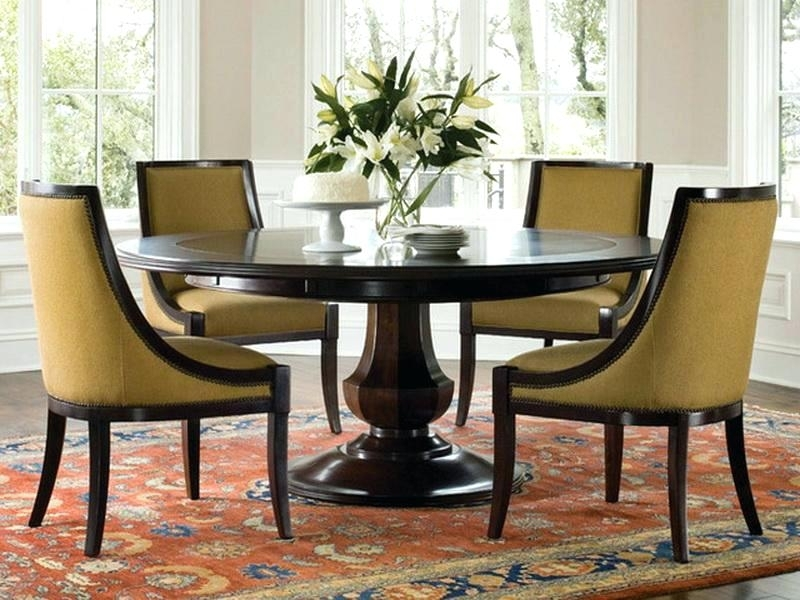 The Amazing Contemporary Round Dining Table For 6 Dining Tables In within Round 6 Person Dining Tables